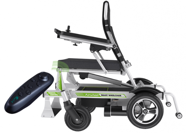 Automatic Folding H3PC Airwheel Smart Wheelchair Lightweight Powered Chair