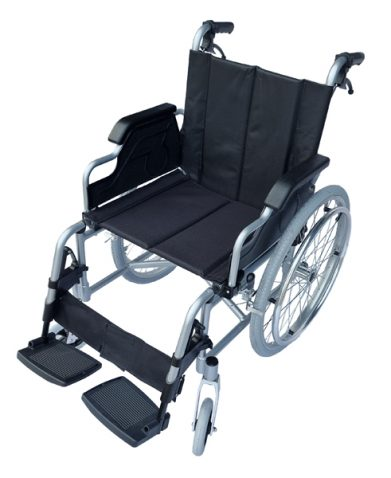 No. 1 best lightweight wheelchair with adjustable leg rest light foldable manual wheelchair