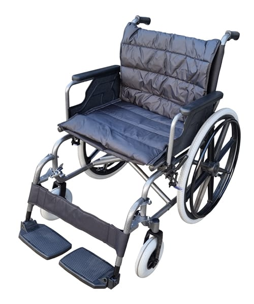 Bariatric Manual Wheelchair with Adjustable leg rests Foldable 180kg weight capacity