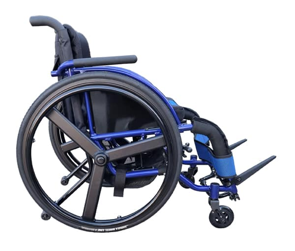 Hire Mobility Equipment Lightweight pushchair with extra storage and anti tipping wheels