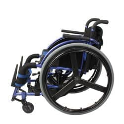 Designed leisure manual wheelchair lightweight foldable Aluminium Alloy-INVENTWHEELS