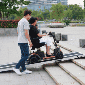 SUPER HEAVY DUTY Access ramp weight capacity 400kg