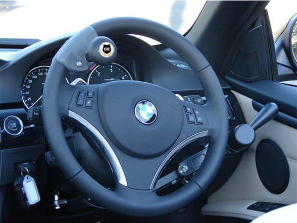 Gilani Engineering Spinner Knob on Steering Wheels