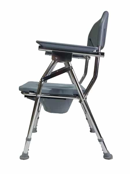 Adjustable Commode Chair for Shower Bath Toilet