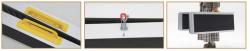 Portable Aluminium Ramp Disability Wheelchair light-weight 272kg length 180cm
