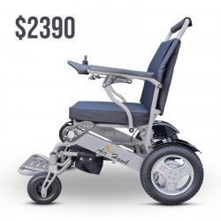 Electric Wheelchair Folding only $2390! Covid-19 14 day money back guarantee. Buy now from Gilani Engineering Disability Shop