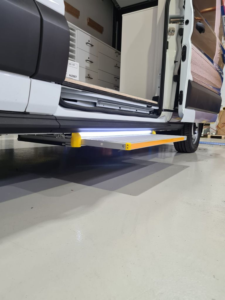 Electric Step Board Access Solution - 750mm