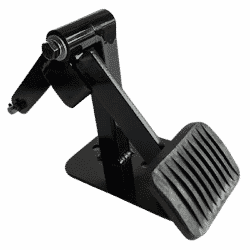 Safety Dual control pedal for driving instructors
