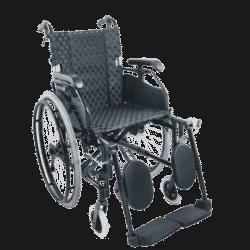 Heavy Duty foldable manual Wheelchair