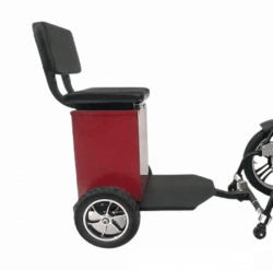 Seat attachment for wheelchairs with storage